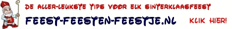 sinterklaasfeest tips